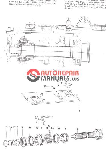 Zetor Tractor 4911 5911 5945 6911 6945 Repair Manual