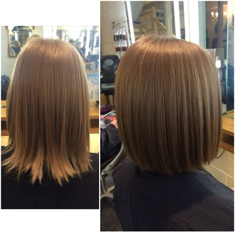 how many haircut are there so many restyles at the moment wearing a one length bob