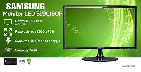 Led Samsung S19c150 monitor samsung pantalla led 18 5 quot digital depot