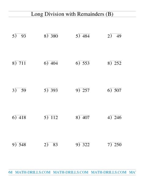 printable math worksheets division with remainders division 187 simple division with remainders worksheet