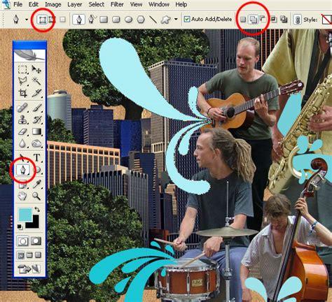 membuat foto montase design graphic cara membuat photoshop montage