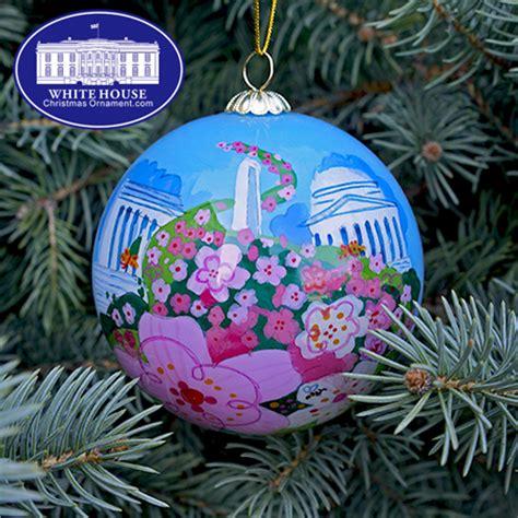 1980 white house christmas ornament 2016 national cherry blossom ornament
