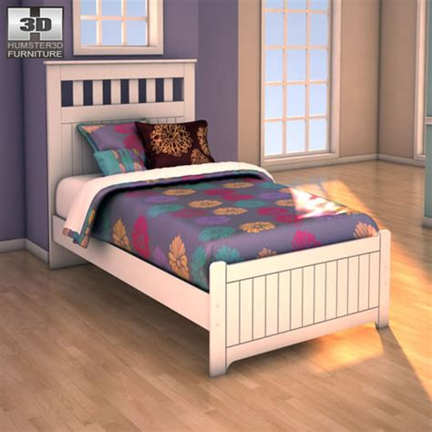 bed bath and beyond mentor ashley twin bed 3d model ashley lulu twin panel bed vr ar