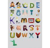 Disney Inspired Alphabet  Nicol Kosky