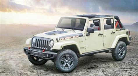 Special Edition Jeeps 2017 Jeep Wrangler Rubicon Limited Edition Review Jeep