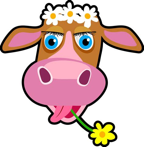 cow clipart the cow free images at clker vector clip