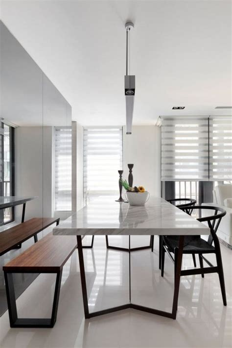 the trends in decoration of modern dining rooms for