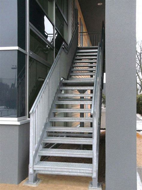 treppen au en treppen johannsen metallbau