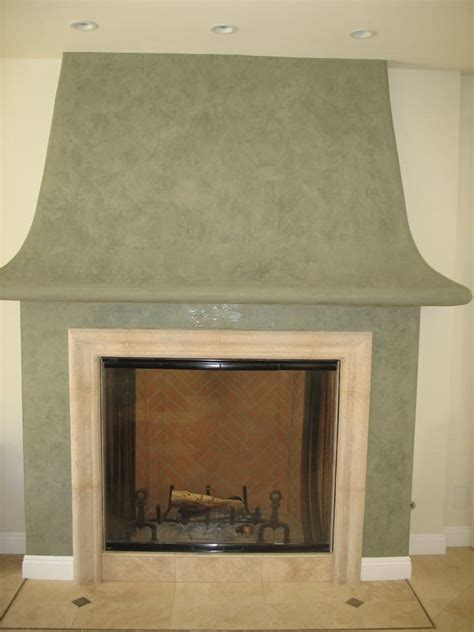 venetian plaster finish on fireplace mantle yelp