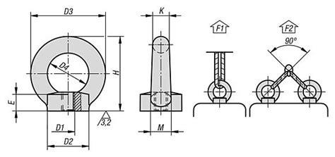 Ring Per M12 Stainless Berkualitas Norelem Ring Nuts Din 582 Stainless Steel Similar To Din 582
