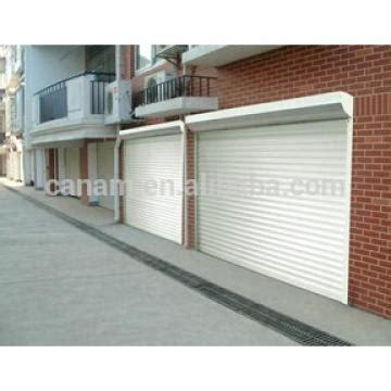 Electric Lightweight Aluminum Roller Garage Door Buy by Buy Motorized Aluminum Electric Horizontal Door