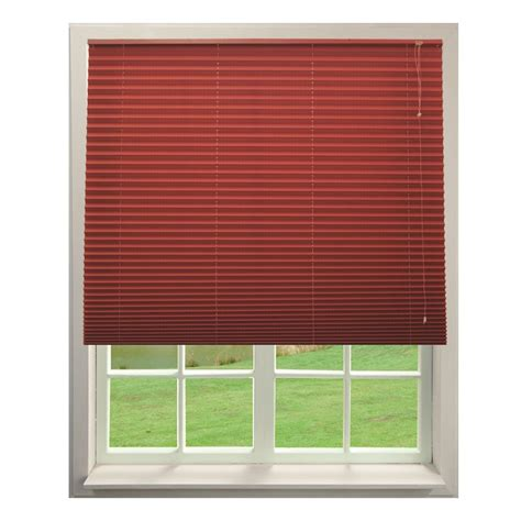persiana exterior persiana plisada roja 1 20 x 1 40 m