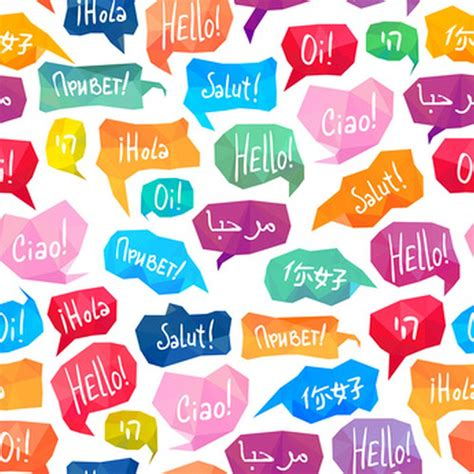 a pattern language which generates multi service centers saying hello in different languages one hour translation