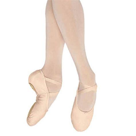 bloch split sole canvas ballet shoe