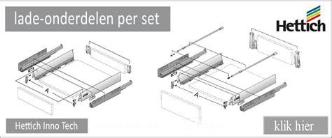 de lade lade onderdelen www keukenlade nl