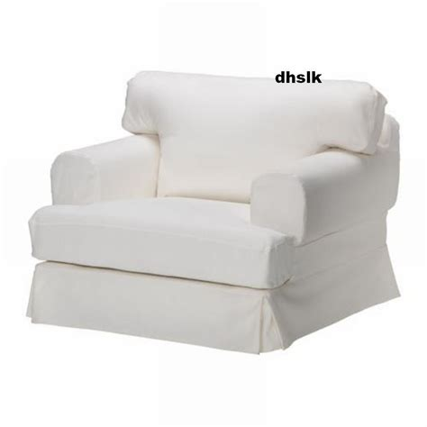 ikea slipcover chair ikea hov 197 s hovas armchair chair slipcover cover gobo white