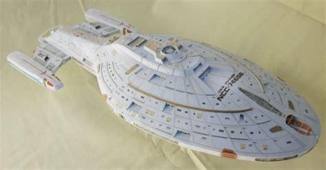 Papercraft Trek - uss papercraftsquare free papercraft