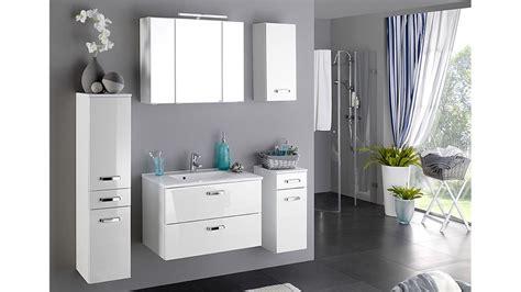 badezimmer set badezimmer set 1 bologna wei 223 hochglanz inkl beleuchtung