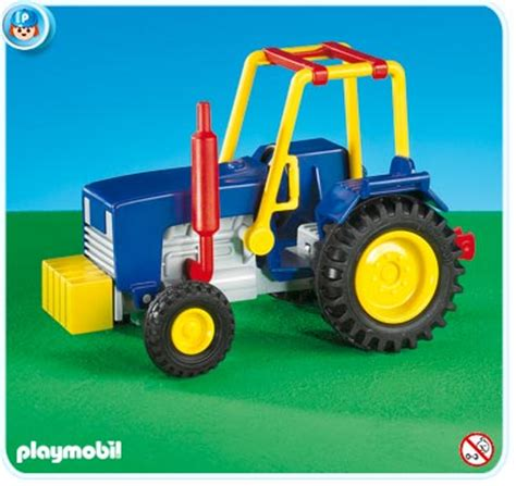 Playmobil Tractor playmobil set 7933 circus tractor klickypedia