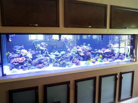Living Room Table Aquarium Aquarium And Cabinets Contemporary Living Room Los