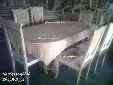 Taplak Lemari Taplak Bufet kursi meja makan taplak kursi makan mebel jepara