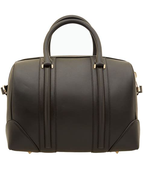 givenchy large black lucrezia bag in black lyst