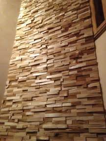 mur en bois interieur decoratif mzaol