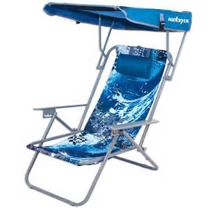 12018 kelsyus beach canopy chair blue wave