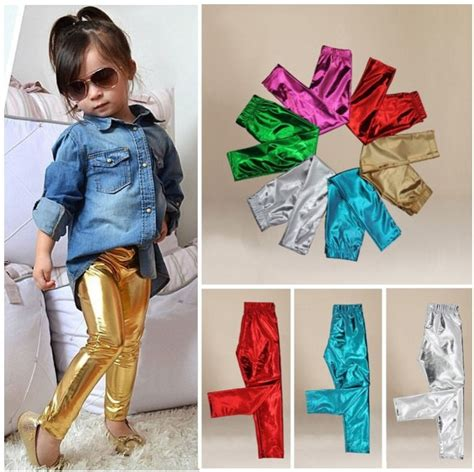 Legging Fashion Baby Sorex K5303 fashion trend baby shiny solid trousers 1 9y pf ebay