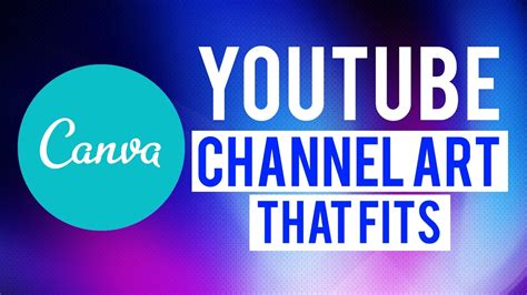 canva youtube banner how to make youtube channel art in canva that fits youtube