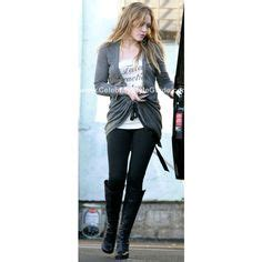 How Would You Wear It Hilary Duff Fabsugar Want Need by Miley Cyrus Hilary Duff Lindsay Lohan Wearing Moccasins