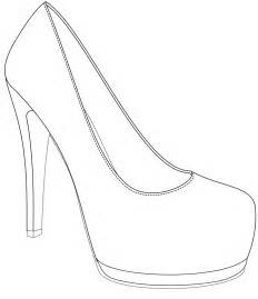 High Heel Shoes Outline by Design Win Your Wedding Shoes With If 183 Rock N Roll