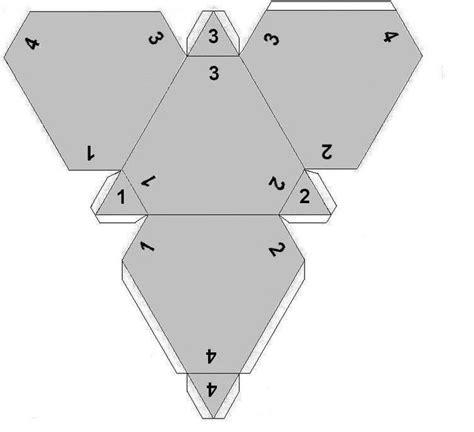 printable paper dice template dice templates wow paper craft tutorials pinterest