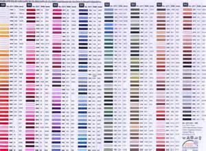 dmc color chart pdf moulin 201 2011 de design fil 224 broder pour la broderie