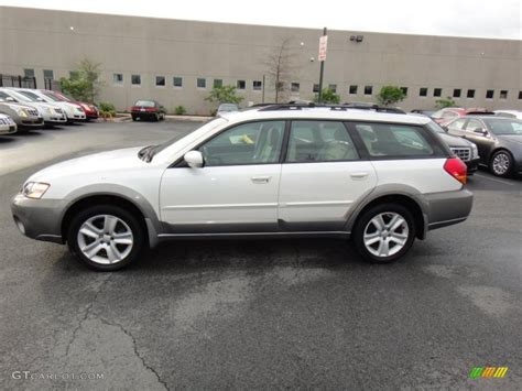 2005 Subaru Outback 2 5xt Limited by 2005 Satin White Pearl Subaru Outback 2 5xt Limited Wagon
