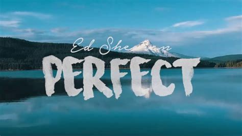 ed sheeran perfect lrc ed sheeran perfect ringtone youtube