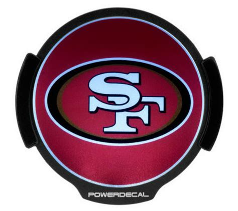 Nfl Motion Activated Light Up Decals By Lori Greiner Qvc Com