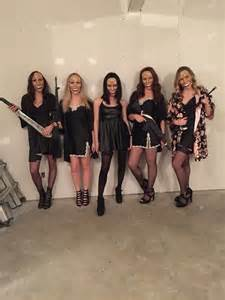 The Purge Halloween Costume Our Purge Halloween Costume Costume Pinterest Girls And All