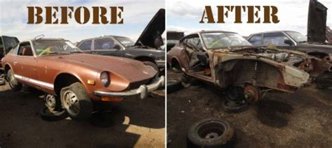 its still a datsun picked clean if you want 240z parts you need to work