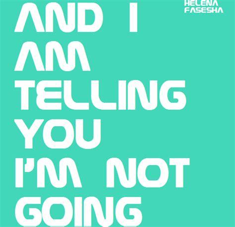 and i am telling you and i am telling you i m not going simpsons fanon