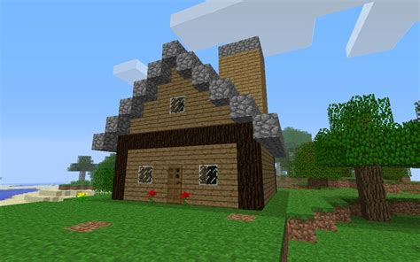 how to build homes in minecraft how to build little wooden minecraft house micah co pinterest
