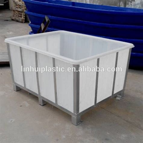 large food grade storage containers large food grade pe material plastic tank rectangular