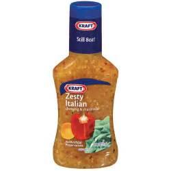 kraft zesty italian dressing marinade 8 fl oz