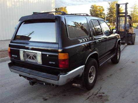 1993 toyota rear bumper used 1993 toyota 4runner rear bumper assembly rear