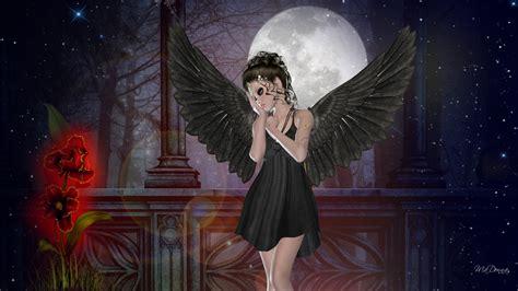 wallpaper dark fairy dark fairy wallpapers wallpapersafari