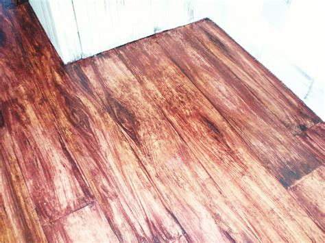 Faux Wood Flooring by Faux Wood Floor Marcdoiron Ca