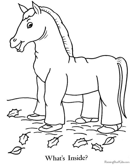 free coloring pages of halloween free printables free halloween coloring pages horse costume 006