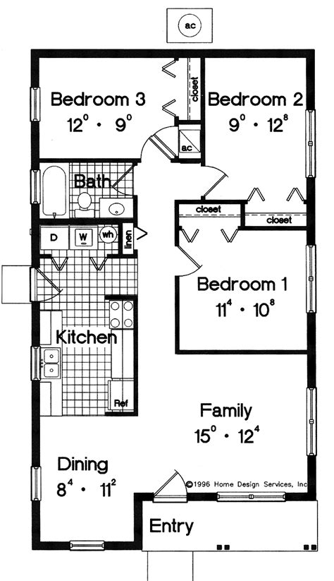 simple bathroom floor plans house plans for you simple house plans