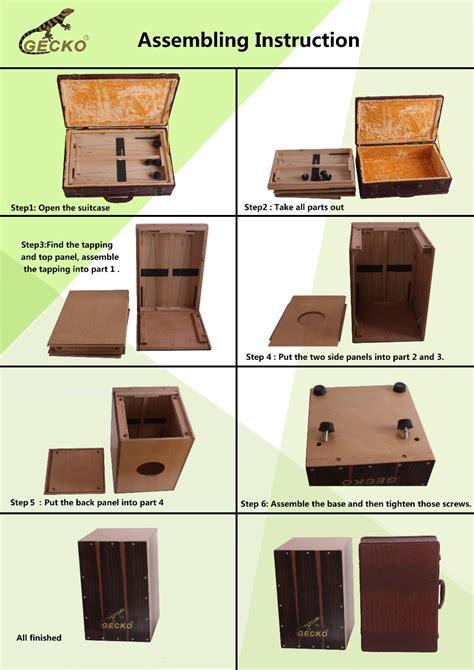 Kaki Karet Box Plastik huizhou cajon drum kotak dilipat dan lipat cajon buy