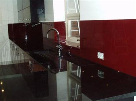 Painted And Glazed Kitchen Cabinets dark red kitchen splash back norfolk glass amp glazing